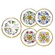 Le Cadeaux - Capri Appetizer Plates Set 4pce