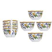Le Cadeaux - Capri Dessert Bowls Set 4pce