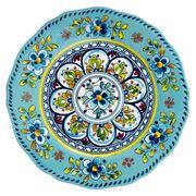 Le Cadeaux - Madrid Dinner Plate Turquoise 28cm