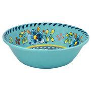 Le Cadeaux - Madrid Cereal Bowl Turquoise 19cm