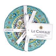Le Cadeaux - Madrid Appetizer Plates Set 4pce