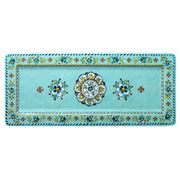 Le Cadeaux - Madrid Rectangle Serving Platter Turq. 45x18cm