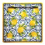 Le Cadeaux - Palermo Square Platter 28x28cm