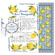 Le Cadeaux - Palermo Tea Towel Set 2pce