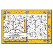 Le Cadeaux - Benidorm Paper Placemats & Napkins Set 40pce