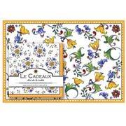 Le Cadeaux - Capri Paper Placemats & Paper Napkins Set 40pce