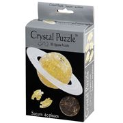 Games - 3D Crystal Jigsaw Puzzle Golden Saturn 40pce