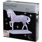 Games - 3D Crystal Jigsaw Puzzle Deluxe Horse 100pce