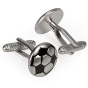 Onyx-Art - Football Cufflinks