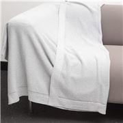 Bemboka - Pure Cotton Trieste King/Queen Blanket Dove