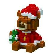Nanoblocks - Christmas Bear Model 140pce
