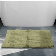 Rans - Waffle Bathmat Green 50x80cm