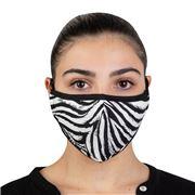 Element Mask - Adult Mask Zebra Black