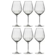 Ecology - Twill White Wine Glasses 430ml Set Of 6pce