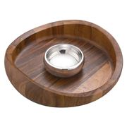 Nambe - Butterfly Chip & Dip Bowl