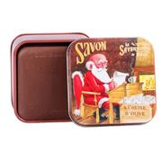 La Savonnerie De Nyons - Santa's List Choc. Soap Tin 100g