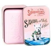 La Savonnerie De Nyons - Westie Dog Rose Tinned Soap 200g