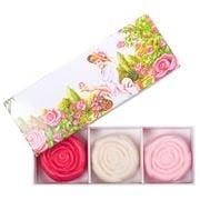 La Savonnerie De Nyons - Extra Gentle Soap Set Rose 3pce