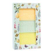 La Savonnerie De Nyons - Artisanal Green Soap Box 3 pce