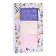 La Savonnerie De Nyons - Artisanal Floral Soap Box 3pce