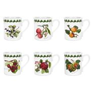 Portmeirion - Pomona Breakfast Mug 260ml Set 6pce