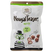 Nougat Limar - Nutty Nougat Teasers M/Chocolate 150g