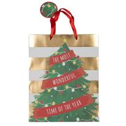 IG Design - Christmas Tree Bag Large 26x32cm