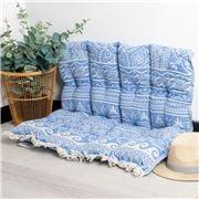 Aelia Anna - Pillow Elliniko Parl Blue 85x85cm