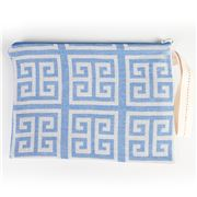 Aelia Anna - Clutch Meandros Parl Blue