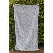 Aelia Anna - Beach Towel Fish Blue Jean 94x180cm
