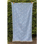 Aelia Anna - Beach Towel Fish Parl Blue 94x180cm