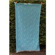 Aelia Anna - Beach Towel Fish Turquoise 94x180cm