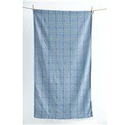 Aelia Anna - Beach Towel Meandros Parl Blue 94x180cm