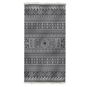 Aelia Anna -  Beach Towel Elliniko Black 94x180cm