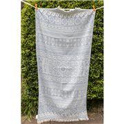 Aelia Anna -  Beach Towel Elliniko Blue Jean 94x180cm