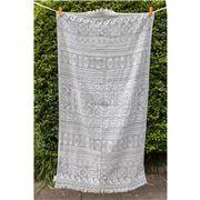 Aelia Anna - Beach Towel Elliniko Grey 94x180cm