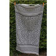 Aelia Anna - Beach Towel Keros Grey 94x180cm