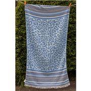 Aelia Anna - Beach Towel Keros Parl Blue 94x180cm