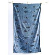 Aelia Anna - Beach Towel Mati Blue Jean 94x180cm