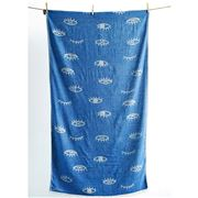 Aelia Anna - Beach Towel Mati Cream/Parl Blue 94x180cm
