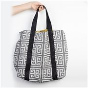 Aelia Anna - Shopping Bag Meandros Black