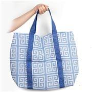 Aelia Anna - Shopping Bag Meandros Parl Blue