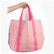 Aelia Anna - Shopping Bag Meandros Pink