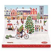 Music Box Card - Christmas Town Music Box Card