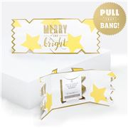 Music Box Card - Merry And Bright Christmas Cracker Card