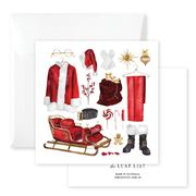 The Lust List - Gift Card Santas Ensemble