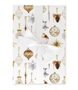 The Lust List - Wrapping Paper Pack Of 5 Baubles