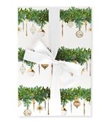 The Lust List - Wrapping Paper Pack Of 5 Deck The Halls