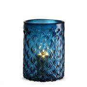 Vandenberg - Aquila Hurricane Candle Holder Small Blue