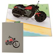 Colorpop - Harley Davidson Greeting Card Medium